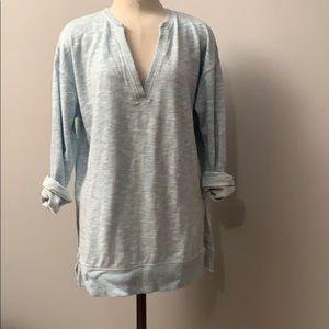Victoria's Secret light blue tunic